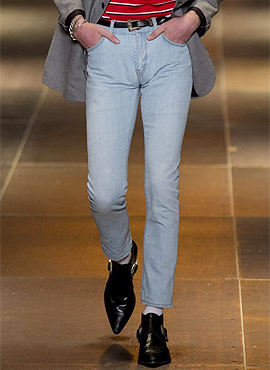 RD Vintage-washed ice jeans exude cool