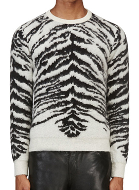 RD S. Mohair Tiger Knit(2color)