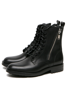 S. 14fw Double Zip-Up Boots