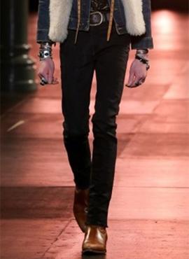 RD S.15ss Wrinkled Black Denim Jeans