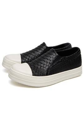 (Restock) Leather slipon real python skin ver.