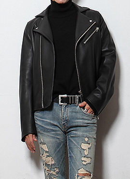 A. gibson leather jacket