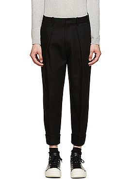 Neil carrot cropped baggy pants