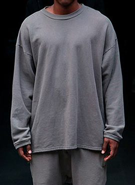 RD Y.Thermal Sweatshirt (Black/Grey)