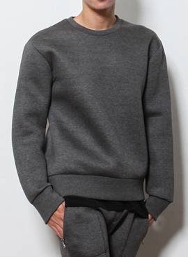 RD Neoprene basic sweatshirt (2colors)