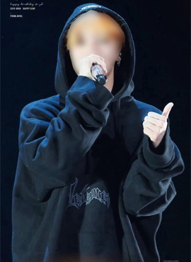 (Restock) V oversized hoodie