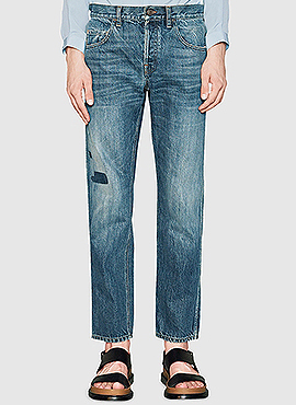 (50% off) RD G.vintage cropped jeans
