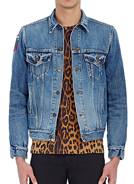 (Restock) SLP Hawaiian Denim Jacket(Same material)