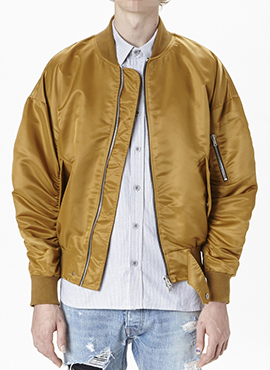 FOG signature ma-1 Gold (Japan imported fabric)