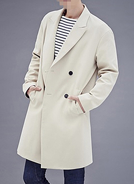 (50% off) RD Semi Oversized Trench Coat(Japan imported fabric)