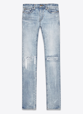 S. Vintage Light Blue Jeans (Same material)