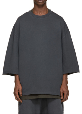RD Y. Overfit 1/2 Sleeve Sweatshirts(4 Colors)