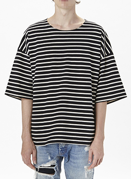 RD F.striped T-shirt