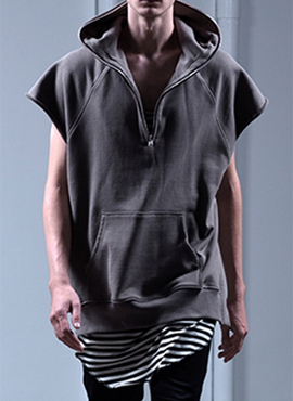 (Restock) FOG sleeveless hoddie (2color)