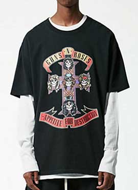 (Restock) RD F.Guns and Roses T-shirt