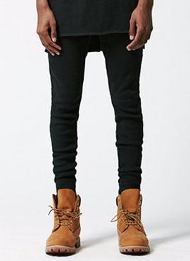 RD F.Waffle Knit black leggings