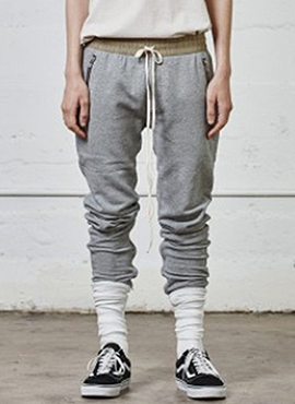 (30% off) RD F.Track pants (Grey/Black)