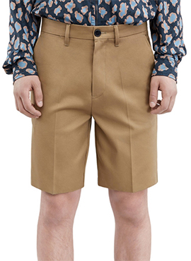 A. short pants (Black / Sand Beige)