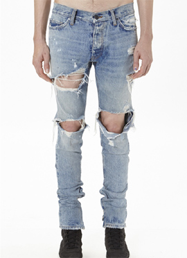 FOG Selvedge Denim Vintage Washing Jeans (Same material)