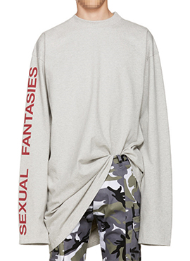 V.Gray Long T-Shirts