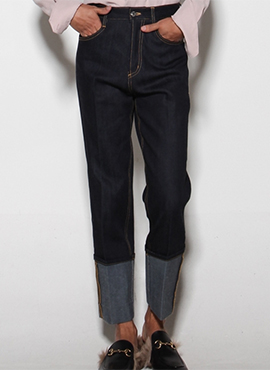 (30% off) RD Rolled Up Raw Denim