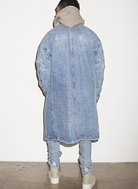 FOG Long Denim Jacket