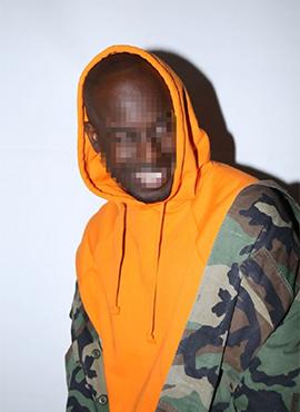 RD F. Orange Hoodie