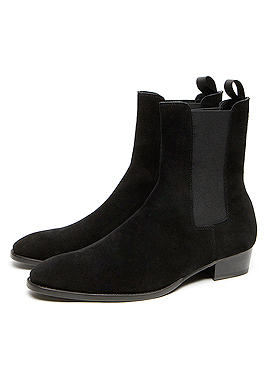 RD S.Classic Chelsea boots Black suede