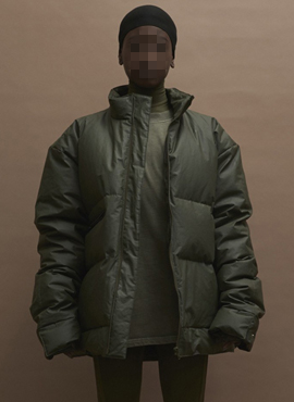 Y. Season3  Basic Duckdown Coat (Khaki/Chocolate)
