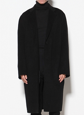 Charles Handmade Black Coat
