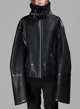 (40% off) RD V.Black Shearling Coat
