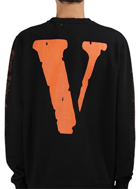 (Restock) RD OW. Print V Sweat Shirt