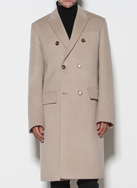 D. Cream Beige Double Coat