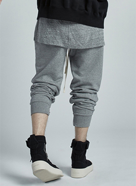 RD F.Pacsun Grey Zipper Training Pants