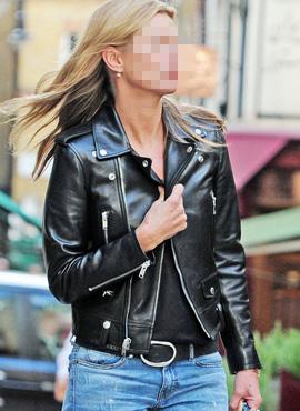 [WOMAN] RD S.15ss Lambskin Rider Jacket