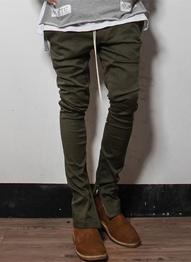 (Restock)RD F. zippered cotton pants