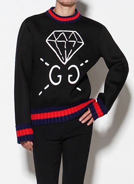 (Restock) G. Ghost Jewelry Sweatshirt