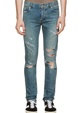 S. 17ss  Destroyed Jeans (Same Material)