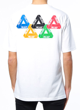 RD P.Olympic Flag T White