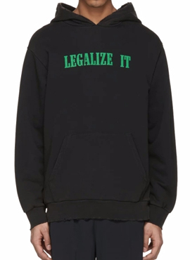 (50% off) RD PA.Black  Legalize It  Hoodie