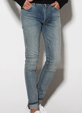 (30% off) RD 17ss S.Fake Destroyed Jeans