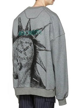 (50% off) RD J. Oversized Back Printing Sweatshirts