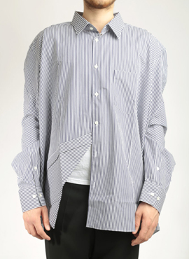 Vete x Comme Oversized Slim Fit Shirts (Same Material)