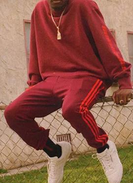 RD Y. Burgundy Sweatshirts