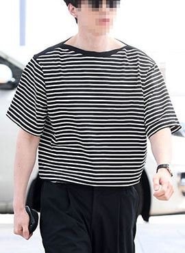 J. Stripe T-shirt