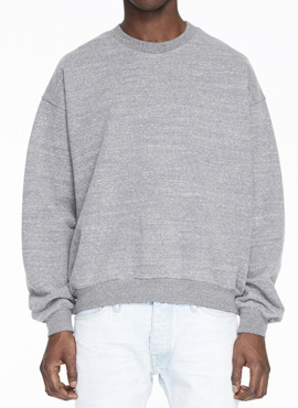 RD F. Heavy Terry Crewneck Sweatshirt
