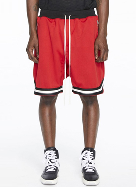RD F. Mesh Sweatshort Red