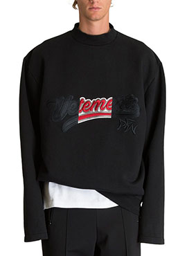 RD V.Embroidery Blend Sweatshirt