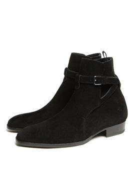 RD S.Wyatt Jodhpur Boots black suede