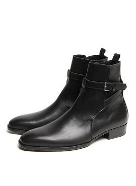 RD S.Wyatt Jodhpur Boots black calfskin